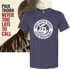 Never Too Late To Call CD + T-Shirt