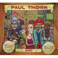 Pimps and Preachers Lithograph
