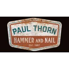 Hammer & Nail Refrigerator Magnet